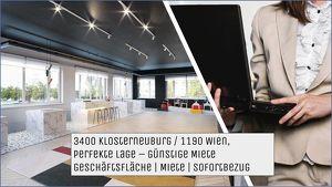 3400 Klosterneuburg - Geschäftsflächen / Schauraum MIETE - SOFORTBEZUG