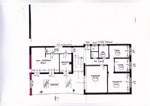 Helle Komfortwohnung ca.150 m2 mit 40 m2 Terrasse