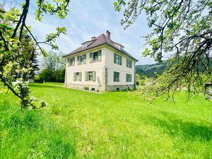 Mürzzuschlag, Ein- bis Zweifamilienhaus auf 2.600 m² großem Grundstück