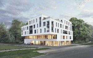 Neubauprojekt - Am Schlosspark Traun - Flexible Geschäfts-/Büroeinheiten zum Kaufen! (zB Geschäftslokal mit 249,33m²)