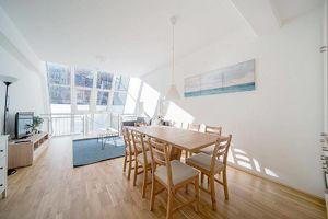 Sonnige 3,5-Zimmer-Maisonette mit Garten und optional mit TG