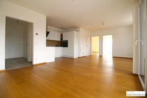 Exklusive 3-Zimmer-Mietwohnung mit moderner Einbauküche & Balkon in Zentrumslage in Strasshof