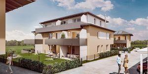 Adnet: 3 Zimmer Neubau Wohnung mit Blick ins Grüne