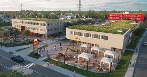 Handels-, Büro- und Geschäftsflächen im neuen Stadtteilzentrum St. Dionysen