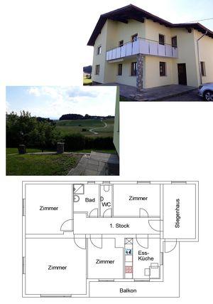 4 Zimmerwohnung Eggelsberg