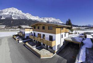Miet-Doppelhaushälfte in Ellmau am Wilden Kaiser-Erstbezug
