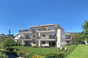 Wohnen fürs Leben / St.Martin: Neubau 3-Zimmer-Dachterrassenwohnung mit ca. 62m²
