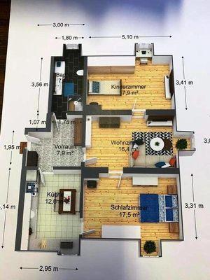 3 Zimmer Eigentumswohnung mit Nebengebäude und Gartennutzung# zum selbst sanieren!#