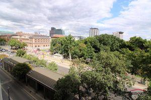 Altbaubüro mit Blick auf den Stadtpark