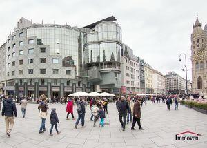 Exklusive Innenstadtlage, Eckgeschäftslokal in der Rotenturmstraße