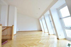 Über den Dächern Wiens: Traumhafte 3 bzw. 4-Zimmer-Maisonette-Wohnung mit großer Terrasse nahe Belvedere