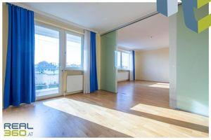 Sonnige und ruhig gelegene Familienwohnung im Zentrum von Linz!
