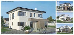 Griffen - ELK-Design-Haus und Grundstück in leichter Hanglage mit Ausblick (Wohnfläche - 130m² & 148m² & 174m² möglich)