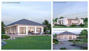 Rosenbach - Schöner ELK-Bungalow und Grundstück (Wohnfläche - 104m² & 120m² möglich)