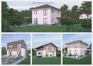 Bad Bleiberg/Nahe Villach - Schönes ELK-Haus und Grundstück in Hanglage mit traumhafter Aussicht (Wohnfläche - 117m² - 129m² & 143m² möglich)