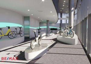 Geschäftsflächen in innovativem Gebäudekomplex