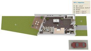 PROVISIONSFREI: 120m² Ziegelmassivhaus mit Eigengarten, 5 Zimmer + vollunterkellert, Dachterrasse, Abstellplatz - H4