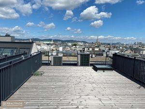 (ERSTBEZUG) NEW PRESTIGE - Traumhafte Dachterrassenwohnung+360°Blick+top Lage am unteren Belvedere