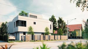50 m² DACHTERRASSE! EDLES 5-ZIMMER EINZELHAUS IN ZIEGELMASSIV. Provisionsfrei für den Käufer.