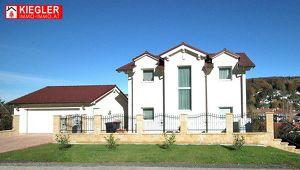 Großzügige Neubau-Villa in Wienerwald-Grünlage, Sauna, Garten, Doppelgarage, ziegelmassivbauweise
