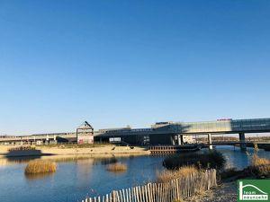 KEIN PROVISION! Lichtdurflutete Ateliers! Neubauprojekt mit Schwimmbiotop, einem Biosupermarkt sowie einer Traumdachterrasse mit Seeblick! U2 Seestadt