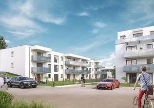 Provisionsfrei ab € 631,70 mtl. ohne Eigenkapital, bonitätsabhängig   Werndorf Living   helle 3-Zimmer-Neubauwohnung