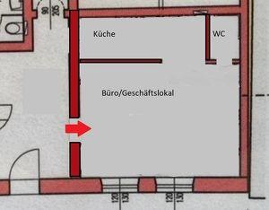 Neuwertiges Büro/Geschäftslokal in Oberalm
