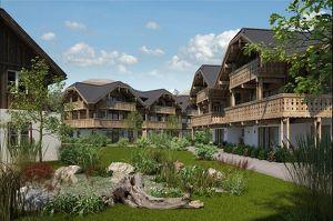 Projekt Alm ApARTment | Haus 7-Top 1 2-geschoßiges Ferienapartment mit Garten, Carport & Private-SPA