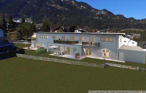 Neubau - Obergschoßwohnung mit Balkon