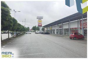 Geschäftsfläche mit ca. 394,74m² im Fachmarktzentrum Tumeltsham zu vermieten!