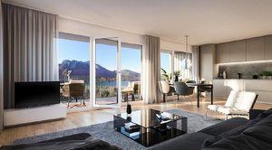 Penthousewohnung in Top-Lage hoch über dem Achensee inkl. 30 Quadratmeter Südterrasse