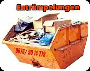 Wir räumen Ihre Immobilie | Entrümpelungen mit Lastentaxi Wien