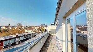 Dachterrassenwohnung mit großartigem Ausblick