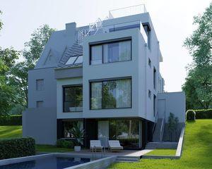 STADTVILLA 4 EBENEN Rooftop und Poolanschlüsse - Grinzings Weinberge im Blick