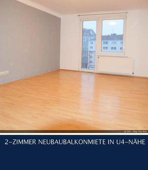 5.Schönbrunnerstrasse - 2-ZIMMER NEUBAUBALKONMIETE IN U4-NÄHE