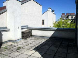 wunderschöne Dachterrassenwohnung nahe Nußdorf, hell, ruhig, unbefristet
