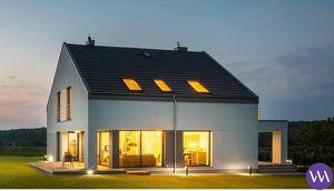 Neubau-Einfamilienhaus mit herrlichem Ausblick ...!