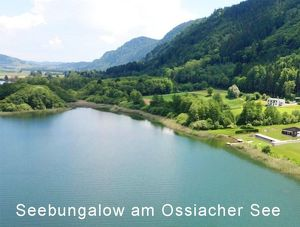 Moderner Seebungalow am Ossiacher See