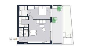 Moderne lichtdurchflutete 2-Zimmer Gartenwohnung in Achau nahe Wien - Erstbezug