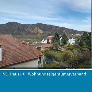 Sanierte Mietwohnung in der Wachau mit Blick auf die Ruine Dürnstein