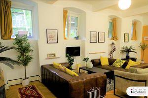 Gemeinschaftsgarten und Ruhelage - Wohnen und Arbeiten in prächtigem Stilaltbau