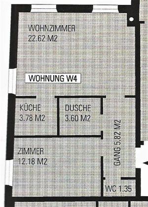2-Zimmer-Wohnung ab September 2021 zu Vermieten