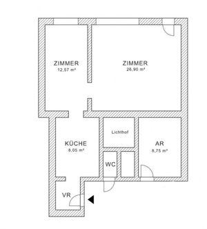 Schönes Büro bzw. Geschäftslokal in Floridsdorf