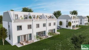 Grünoase in 1220 Wien ! Provisionsfreie Erstbezugs - Häuser ! Ab Frühling 2021 im eigenen Garten !