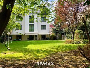 Hietzinger Cotttage: Elegante Mietwohnung (5 Zimmer) inklusive riesigem Privat-Garten, 3 Terrassen und 2 Garagenplätzen in Bestlage