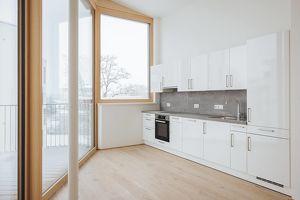 2 Zimmer Penthouse Wohnung | Gesamtfläche 92 m² | Balkon und Dachterrasse