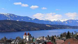 See- und Bergblick Nähe Millstätter See