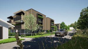Helle, neue Eigentumswohnung am Klopeiner See mit ca. 45 m² Wohnfläche, TOP 12, Haus 2, 2. OG