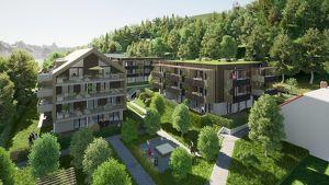 Perfekt aufgeteilte NEUBAU-Eigentumswohnung am Klopeiner See mit ca. 48 m² Wohnfläche und ca. 17 m² Balkon, TOP 5, Haus 3, 1.OG