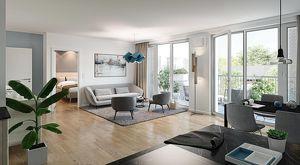 Schallmoos: 3 Zimmer Wohnung mit Balkon direkt vom Bauträger